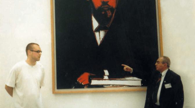 Andy Warhol – Black Lenin