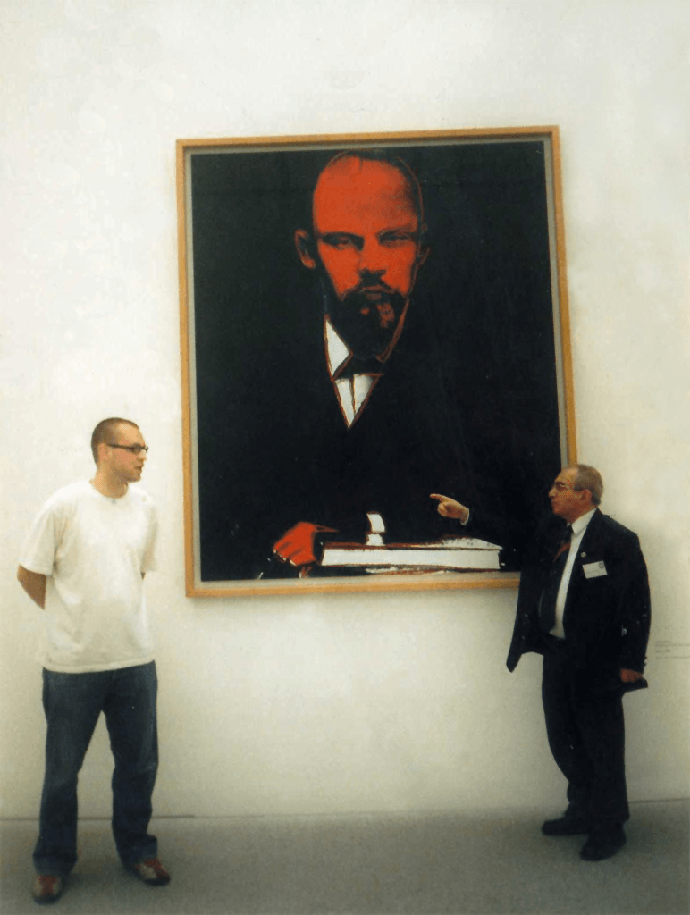 Photo - Andy Warhol - Black Lenin - Pinakothek der Moderne