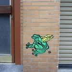 photo - streetart - cologne - frog