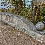 photo - streetart heidelberg czerny bridge chalk dimension