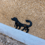 photo - streetart heidelberg rohrbach dog
