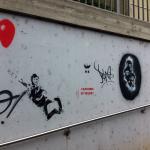 photo - streetart mannheim neckar