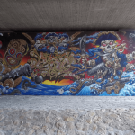 photo - streetart munich isar