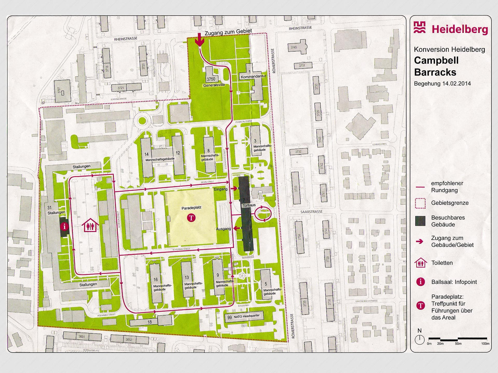 Photo - Campbell Barracks Map Sector Planning