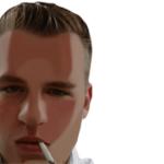 Photo - Christian Mürner Passport Avatar Cartoon half