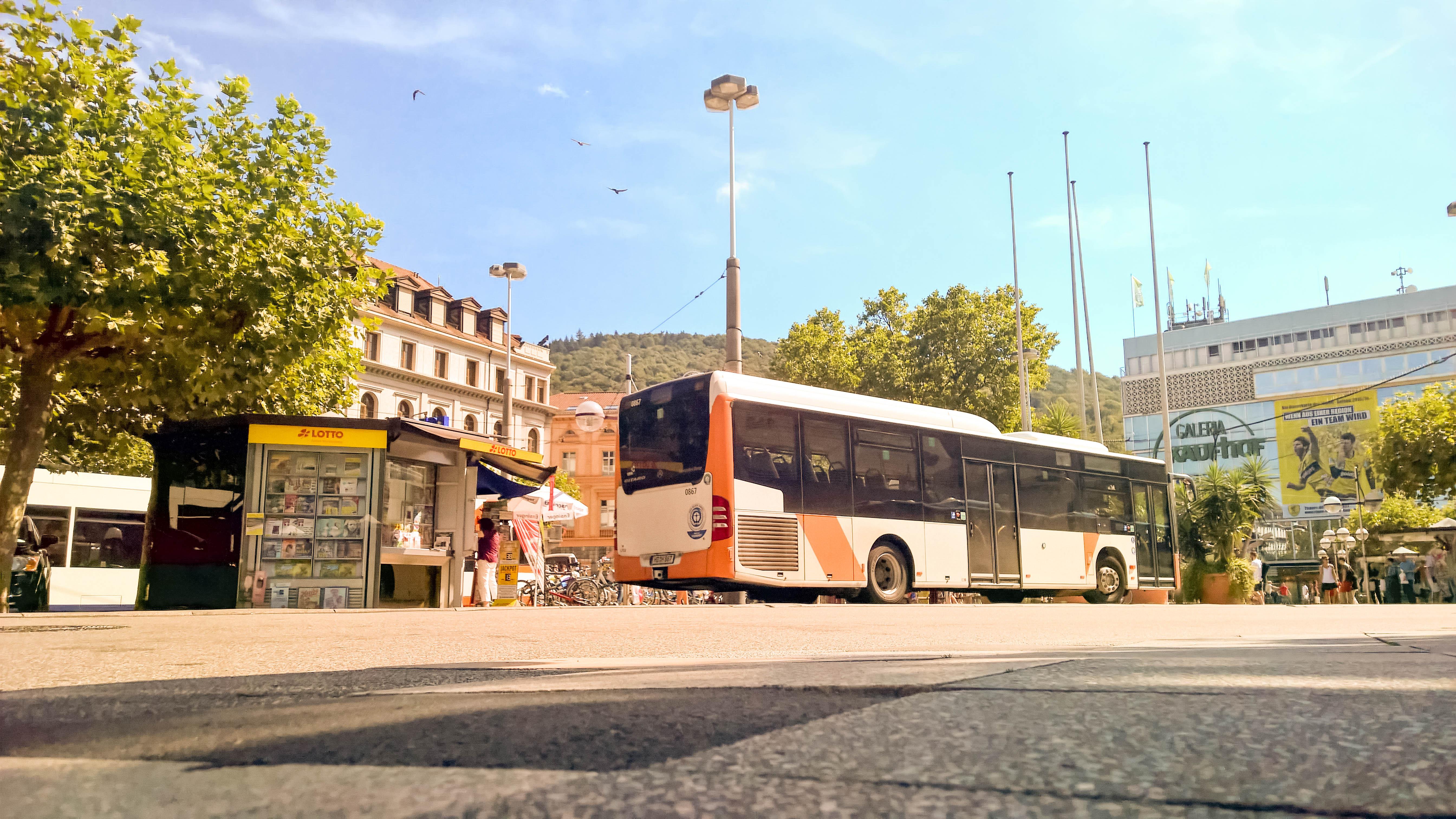 Nokia Lumia 1520 Photo Example - Bismarckplatz Heidelberg