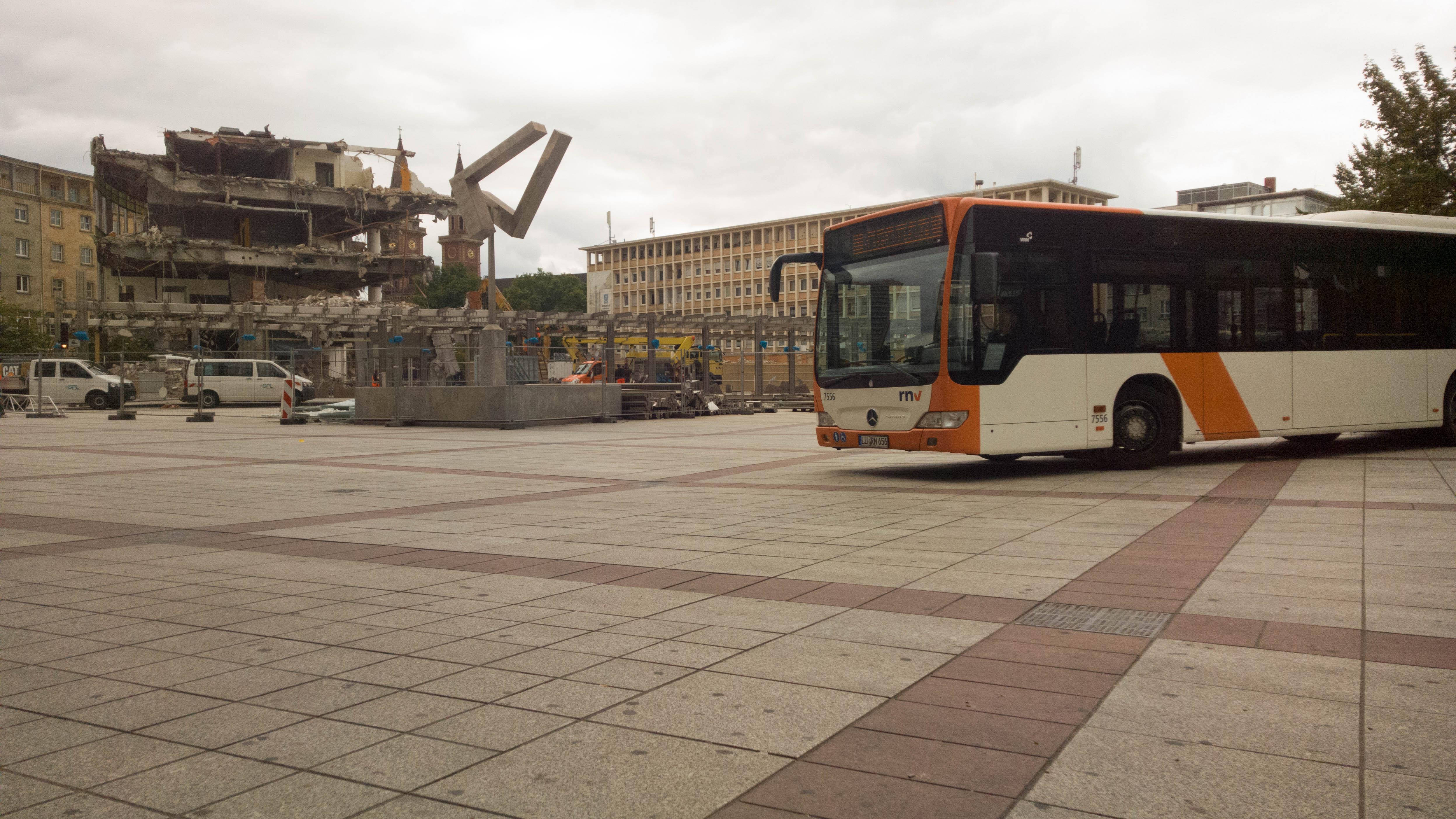 Nokia Lumia 1520 Photo Example - Berliner Platz Ludwigshafen